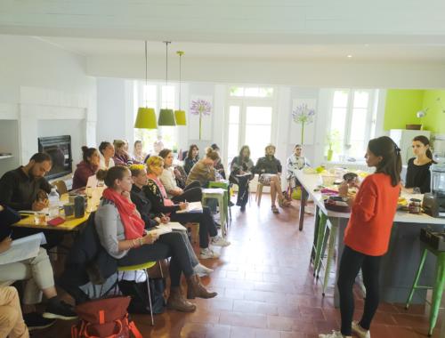 Atelier pratique en alimentation vivante et cure de jus avec Sarah Juhasz